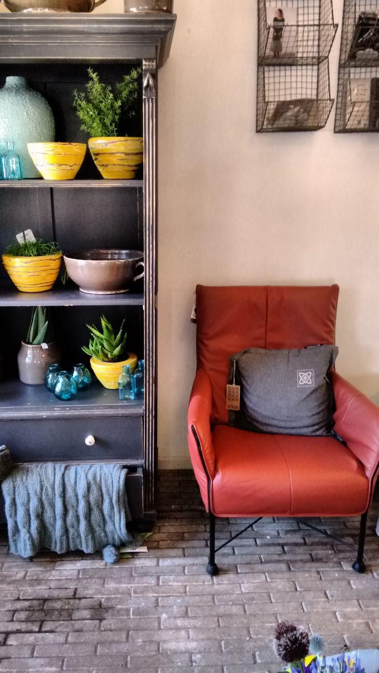 Deze stoel wordt nu tentoongesteld bij de Marangerie  in Dussen. Als u intresse heeft, kunt u altijd een kijkje gaan nemen!