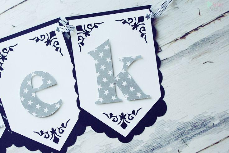 #birthday #party #banner #handmade #kids #cricut #explore #craft #home #decor #kidsroom #black #white