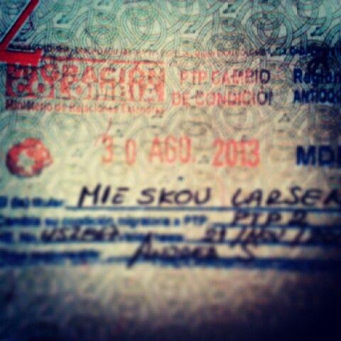 Student visa... spansk fra mandag!