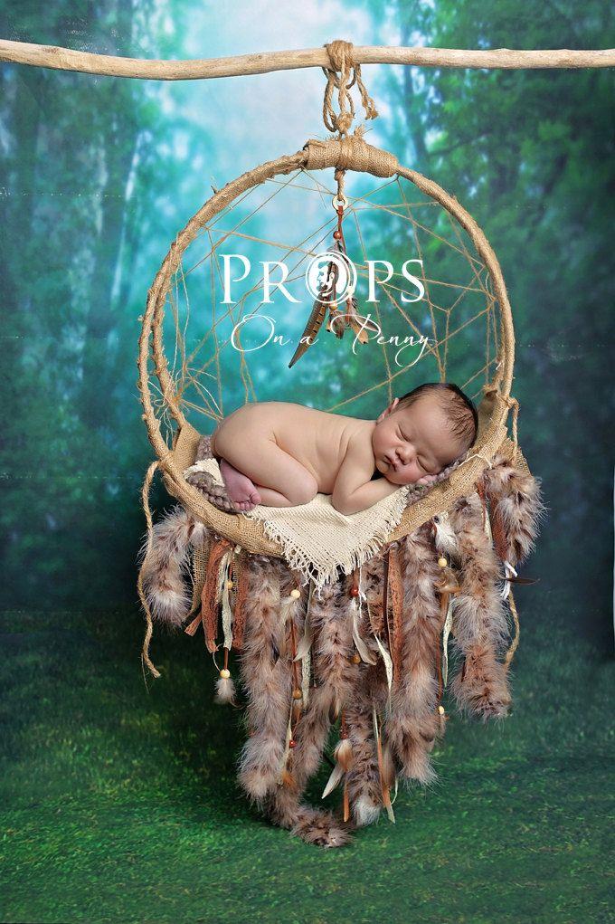 Newborn Dreamcatcher Prop Newborn Prop Digital Backdrop With