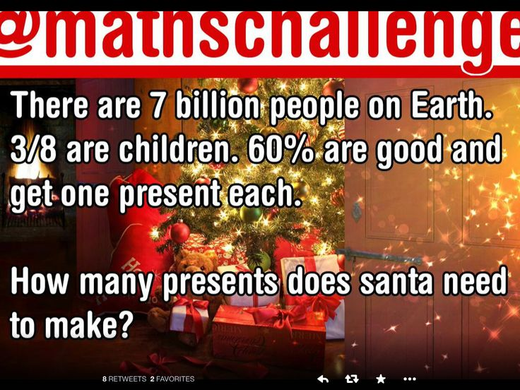 ... Christmas : Maths Challenge on Pinterest | Math, Xmas and Twitter