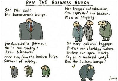 Ban the business burqa