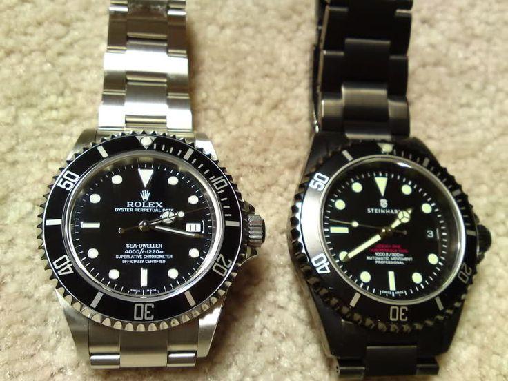 Rolex Sea Dweller And It S Homage Steinhart Quot Ocean Black