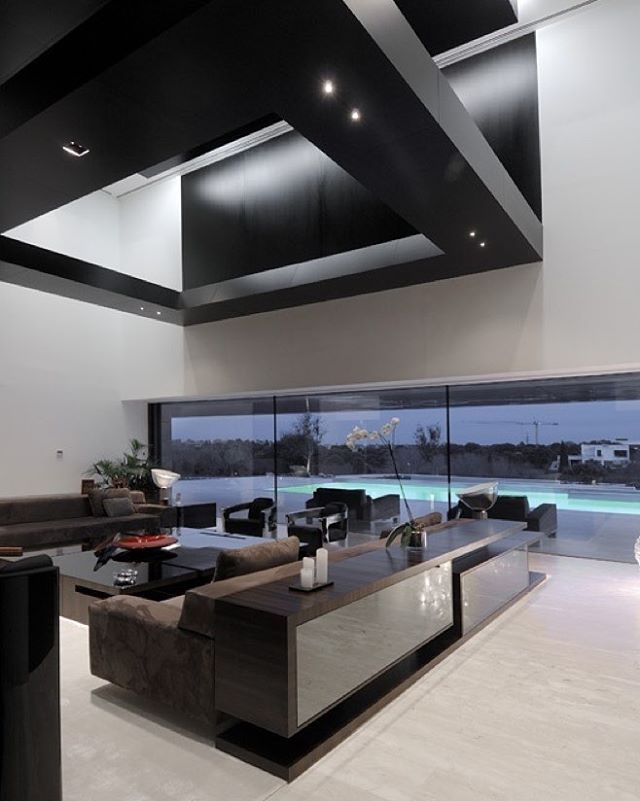 Modern Living Room With Kitchen Interior Design 2373 best ideas for the house images on pinterest | architecture