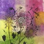 Where Flowers Bloom II Print from original art - 28cm x38cm