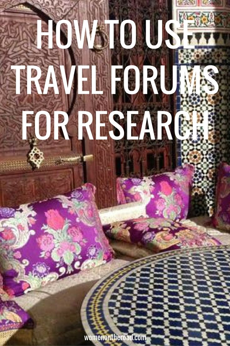 When researching your travels the best travel forums online can help you by crowdsourcing information.