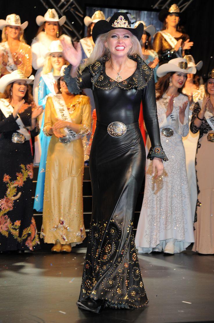 Lauren Henton Miss Rodeo America 2015 wearing Jan Faulkner Leather