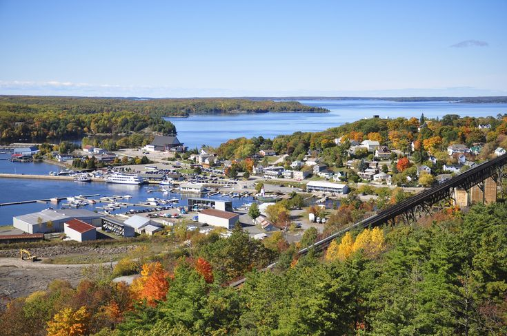 Parry Sound, a wonderful small city in Northern Ontario, Canada