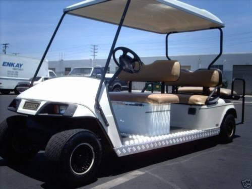 Ez Go Limo 6 Passenger Seat Golf Cart Electric Ezgo 06