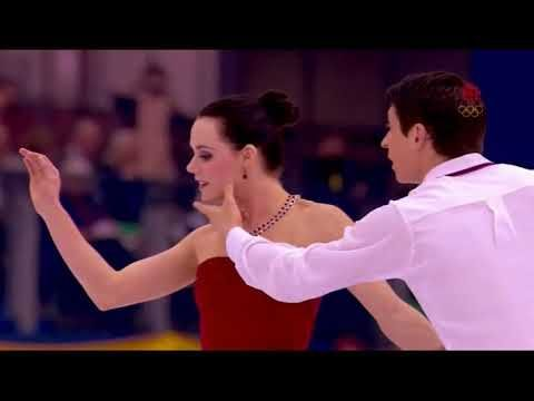 Tessa Virtue and Scott Moir reacts to their 20 years montage - YouTube