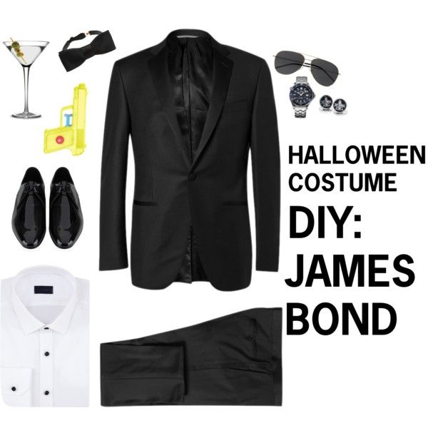 #DIY James Bond Halloween Costume for College Students - Find more #DIYHalloween costume ideas that are in your closet right now on #Fastweb: http://www.fastweb.com/student-life/articles/4366-diy-halloween-costumes