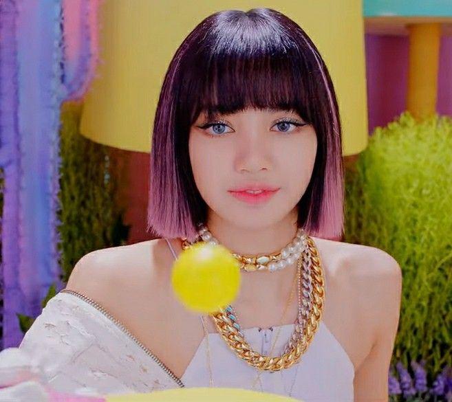 Ice Cream Lisa Hair Kpop Hair Hairstyle