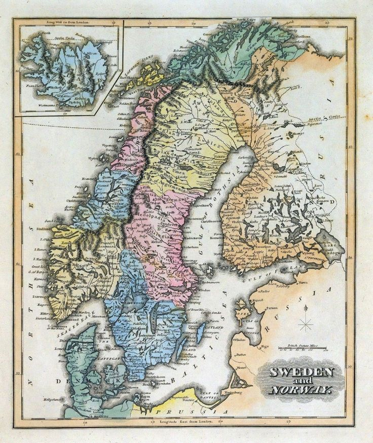 Best Antique Maps Of Scandinavia Images On Pinterest Antique - Norway map poster