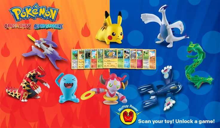 Check Out These Pokemon Toys Coming to McDonald's Happy Meals in November - GameSpot