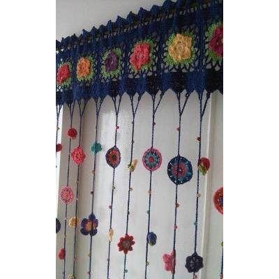 1000 ideas about cortinas crochet on pinterest crochet - Tejidos de cortinas ...