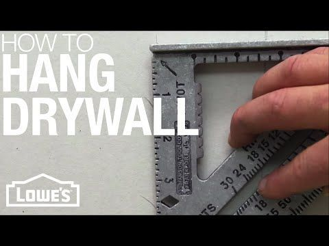 How To Install & Finish Drywall With Anitra Mecadon - YouTube