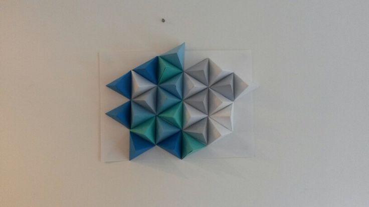 Diy triangles au mur Scandinave