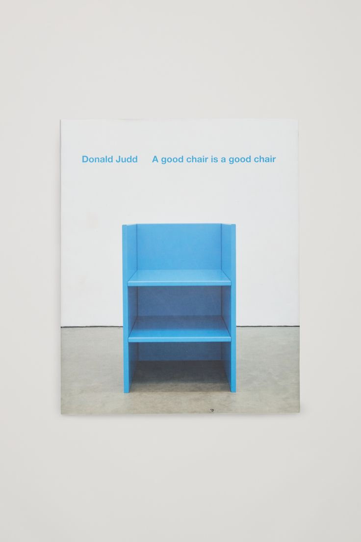 COS × HAY | Donald Judd: A Good Chair is a Good Chair