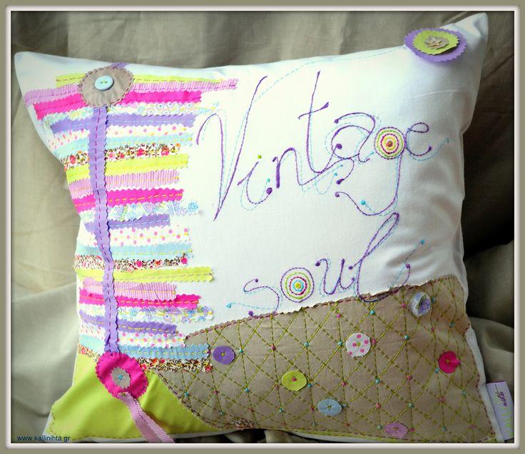 Handmade decorative pillow !!!