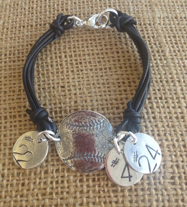 baseball bracelet for some of my favorite baseball mom friends