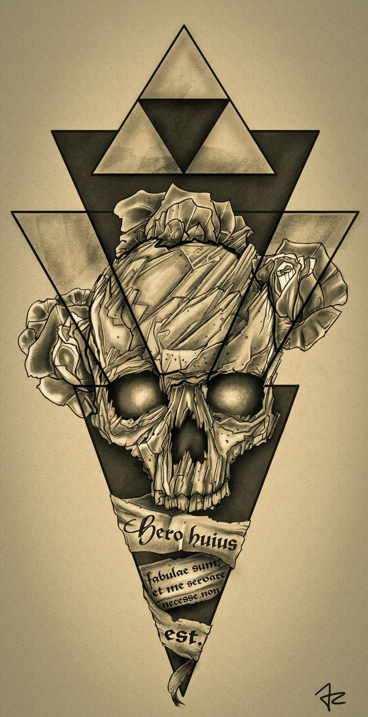 Design #137 por Giulio Rossi | Hip - Dark - Sketch Tattoo Design Needed!