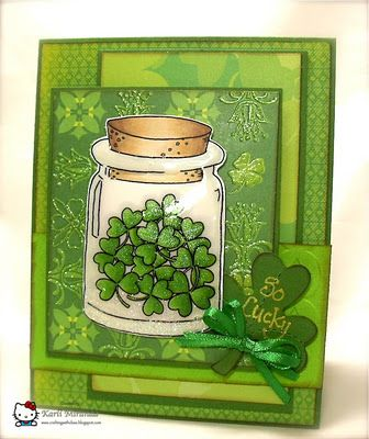 <3 St. Patrick's Day card
