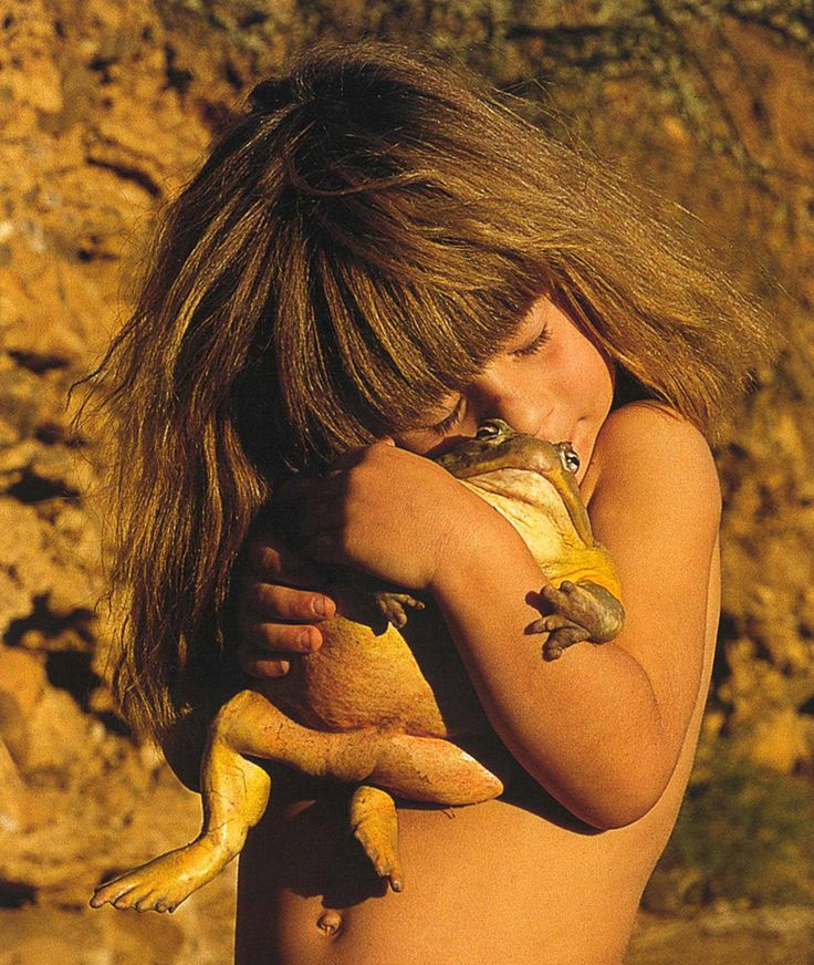 Tippi -During her stay in Namibia, she befriended wild animals, including a…