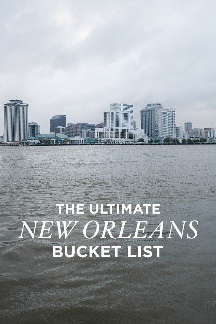 The Ultimate New Orleans Bucket List - 101 Things to Do in New Orleans + Tips for First Time Visitors // Local Adventurer #nola #neworleans #lousiana #bucketlist