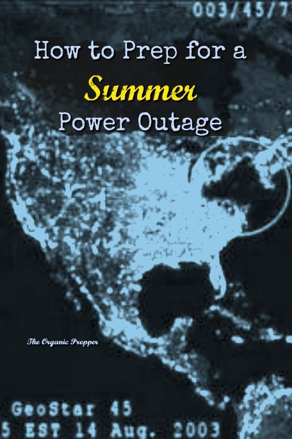 Sometimes people think that a summer power outage is easier to deal with than a winter one. However, a summer power outage carries its own set of problems.