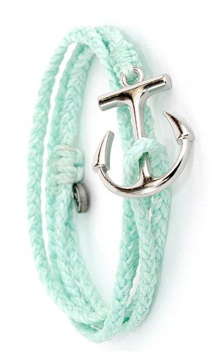 Sail away with Pura Vida and our new Anchor Wrap Collection. Sail on the sea of tranquility with this seafoam wrap bracelet. Each bracelet features our signature anchor charm and adds the perfect touc