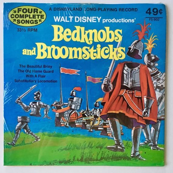 Bedknobs And Broomsticks Sealed 7 Ep Vinyl Record Etsy Bedknobs And Broomsticks Childrens Music Vinyl Records