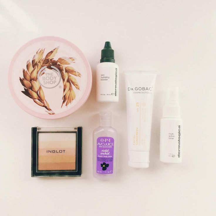Products that you absolutely must have for the summer: skincare, bodycare and make up