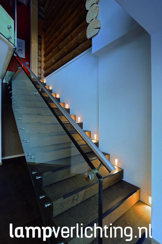 Led inbouw wandlamp voor het indirect verlichten van bijvoorbeeld een trap of gang.  #trapverlichting #ledverlichting #inbouwspots #designverlichting