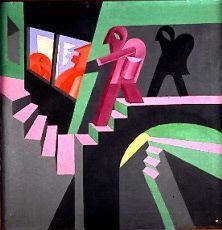 Fortunato Depero, nació en Italia en 1960, fue un pintor futurista, escritor , escultor y diseñador gráfico