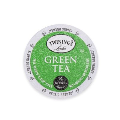 Revitalize and energize with the refreshing flavor of the Keurig K-Cup Twinings of London Green Tea. This wonderful tea offers a decadent, fresh taste and a smooth flavor, plus an enticing aroma of pure green tea.