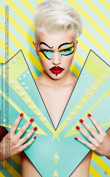 Magazine: 74 Magazine Photographer: Thomas Knieps Model: Michaela Schinabel Styling and Props: Rolf Buck Makeup: Tanja Kern (www.tanja-kern.com)