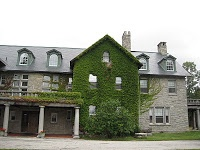 """Jennings Mansion, in Bennington, Vermont, was the inspiration for Shirley Jackson's """"The Haunting of Hill House""""."""