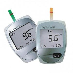 EasyTouch GU vércukor-és húgysavmérő    http://www.r-med.com/gyogyaszati-termekek/diagnosztikai-keszulekek/easytouch-gu-vercukor-es-hugysavmero.html