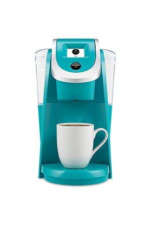 YOUR FAVORITES. YOUR WAY. The Keurig 2.0 K250 Brewing System (Turquoise) features revolutionary Keurig 2.0 Brewing Technology. Choose over 500 different K-Cup pod varieties, from 75 brands. It's our most compact Keurig 2.0 brewer, and it's available in seven colors!
