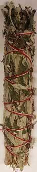 """White Sage & Mugwort Smudge Stick 8"""""""