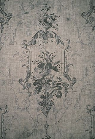 antique wallpaper detail