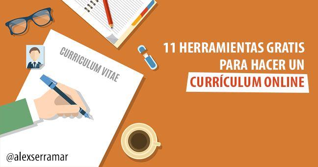 ¡Haz el mejor Currículum Online! Prueba estas herramientas gratuitas para hacer currículums vitae de forma online y con resultados muy buenos.