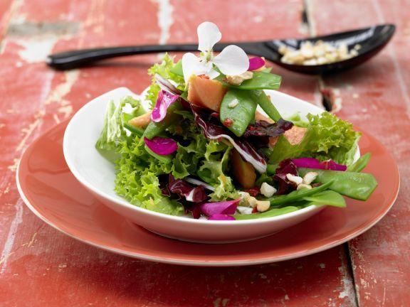 Snow Pea Salad with Papaya | Eat Smarter