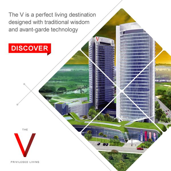 Ecologically ideal and luxurious to the core - The V waits for you. Discover: http://bit.ly/TheVKolkata