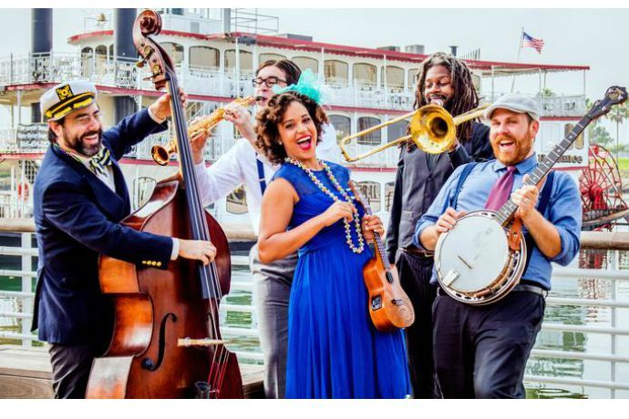 """We think your kids will love this zippy, New Orleans flavored song from Jazzy Ash and special guest Chris """"Boom"""" Wiser of the Sugar Free Allstars."""