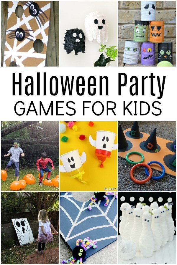 40 Best Halloween Party Games For Kids 1000 In 2020 Fun Halloween Party Games Halloween Games For Kids Halloween Party Games Kids