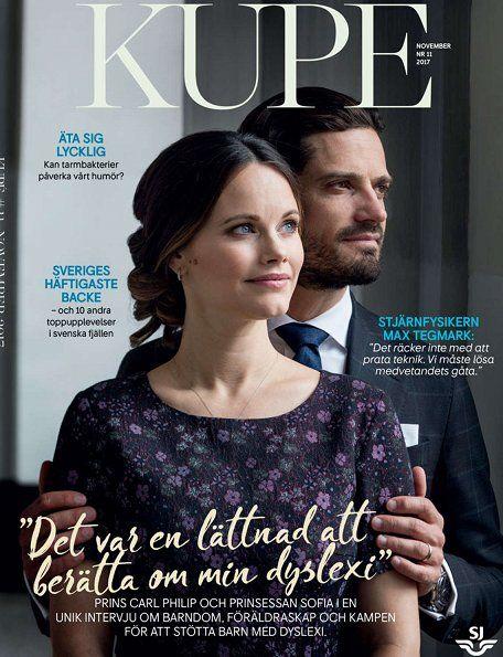 Prince Carl Philip and Princess Sofia gave an interview to 'Kupé'