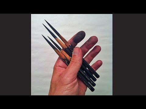 This is a short video about how art school teaches us to sharpen pencils classical atelier style. Conte a Paris 1710 B pencils..link here...http://www.amazon...