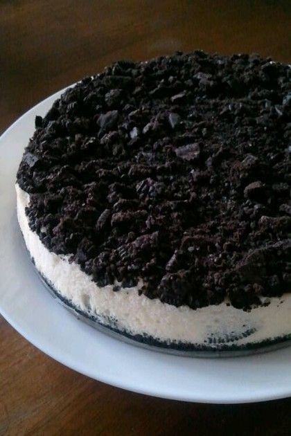 スタバのクッキークリームチーズケーキを再現しました!素敵なつくれぽ、楽しく拝見しています!ありがとうございます♪