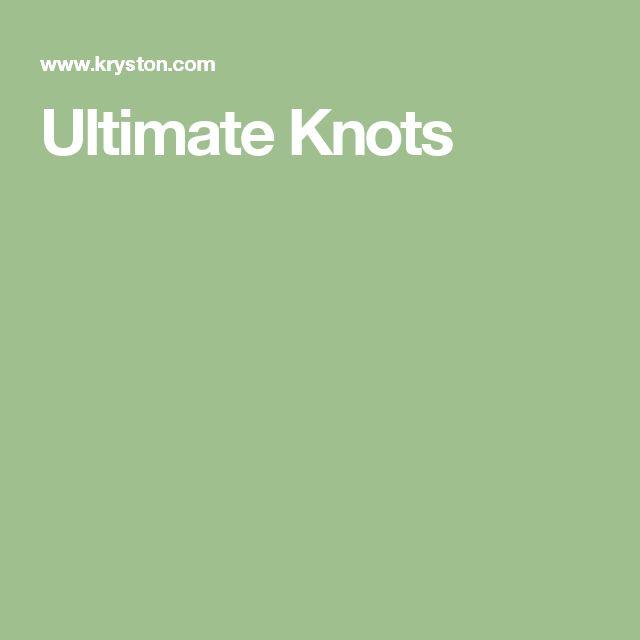 Ultimate Knots